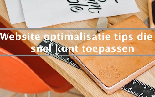 website optimalisatie tips