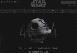 futuristics original error 404 message