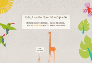 404 giraffe