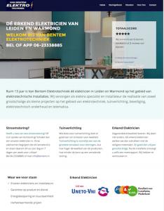 webdesign elektricien