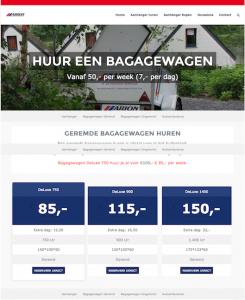 webdesign verhuurbedrijf