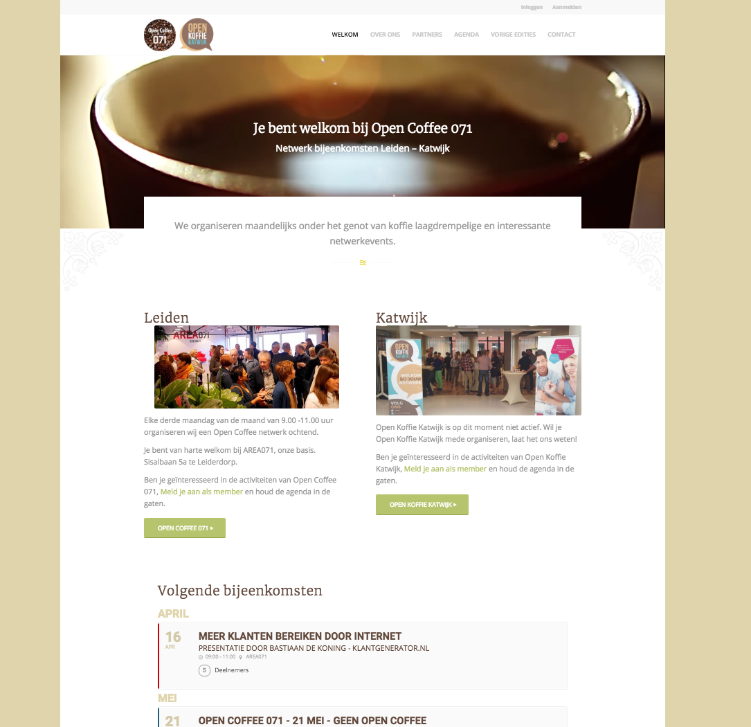 opencoffee-webpage