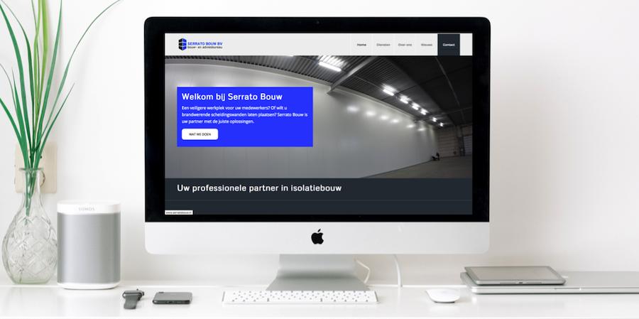 website voorbeeld bouwbedrijf