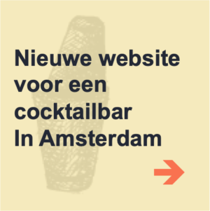 voorbeeld wordpress website cocktailbar amsterdam