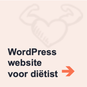 voorbeeld wordpress website dietist