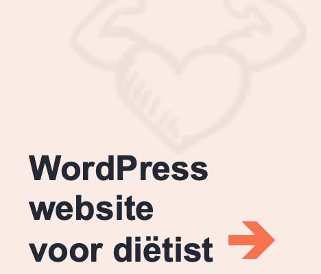 voorbeeld wordpress website dietist