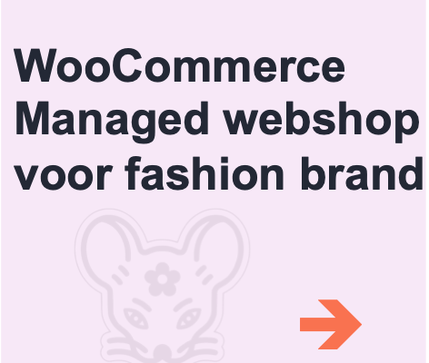 managed woocommerce webshop