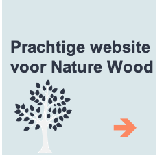 prachtige wordpress website nature wood