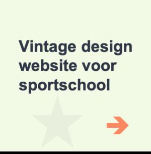 website laten maken sportschool