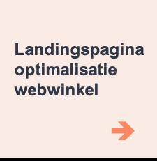 landingspagina optimalisatie voor een webwinkel uit Brabant